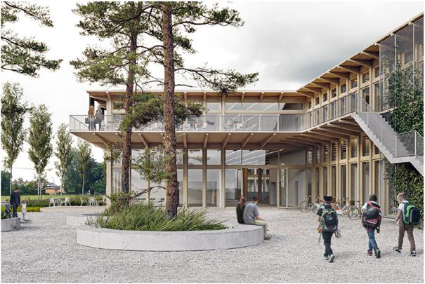 Neubau ISR International School Rheintal, Buchs