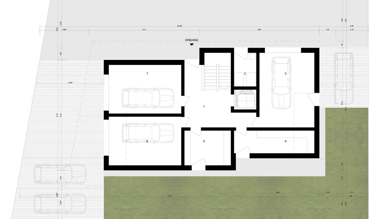 Neubau Mehrfamilienhaus Walser, Schaan