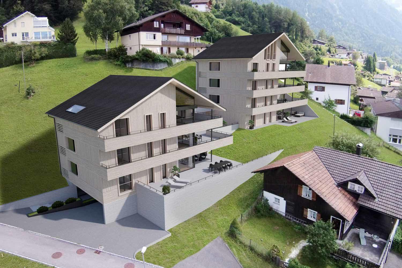 Neubau Mehrfamilienhaus Rietli, Triesenberg