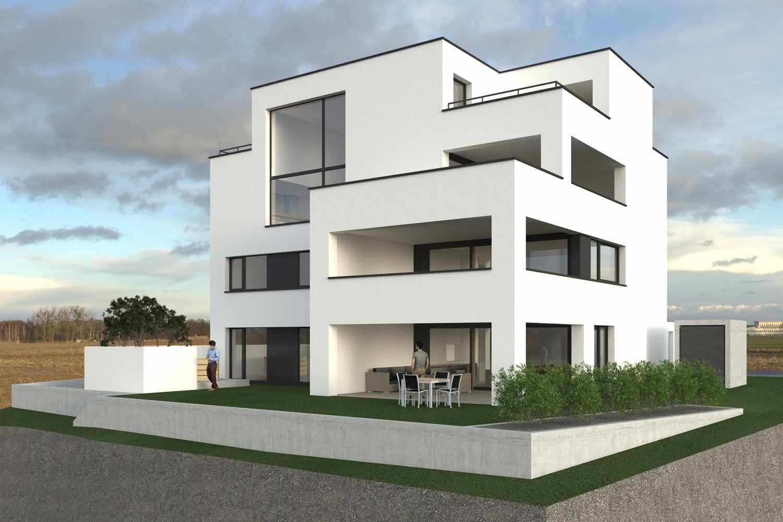 Neubau Mehrfamilienhaus, Schaan