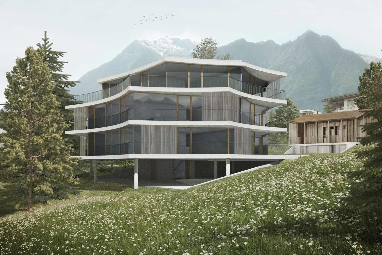 Neubau Mehrfamilienhaus, Triesen
