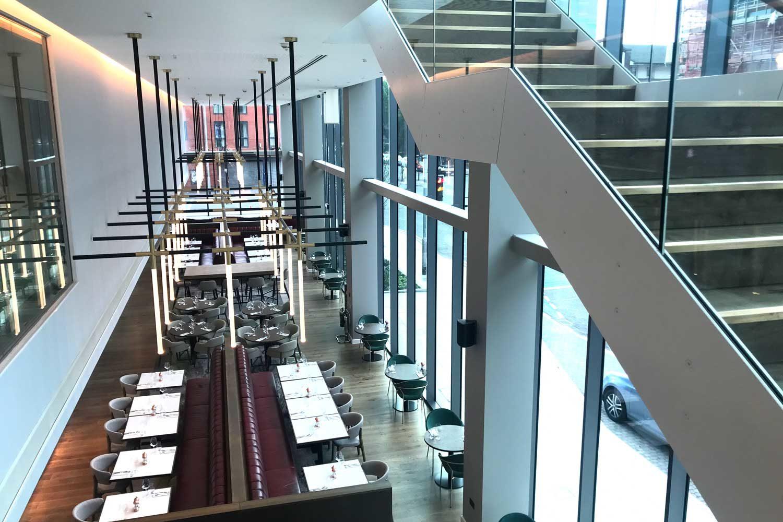 Neubau Crowne Plaza, Staybridge Suites Hotel, Manchester
