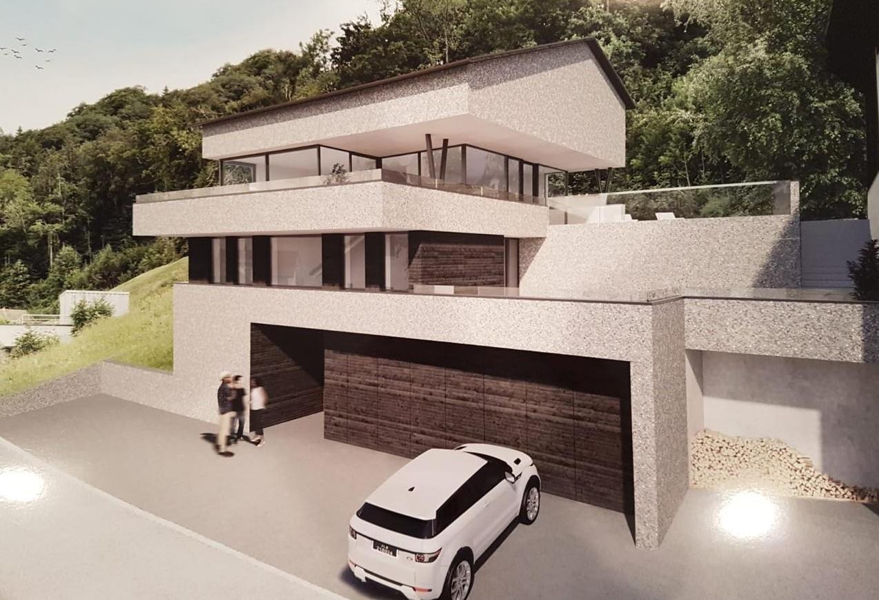 Neubau Einfamilienhaus, Triesenberg